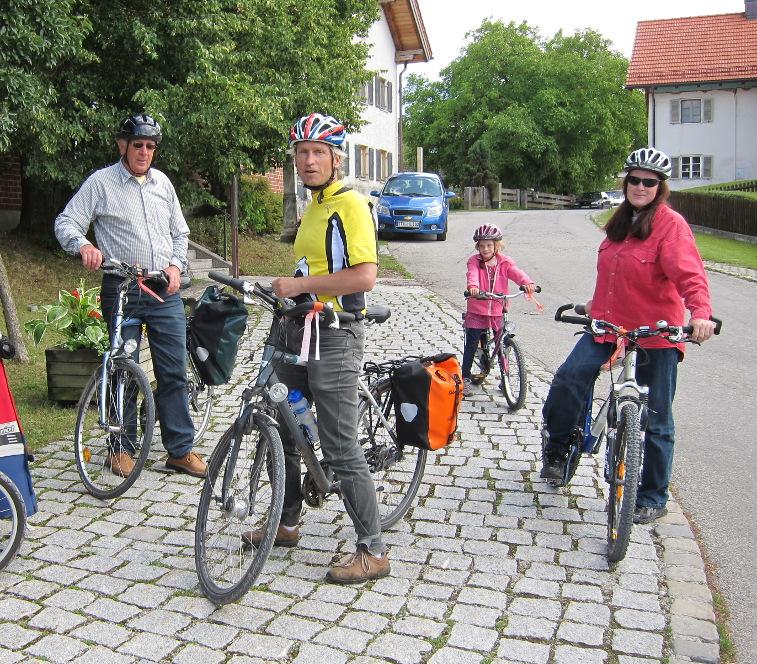 Willkommenstouren für Neubürger – Weßling mit dem Radl erfahren