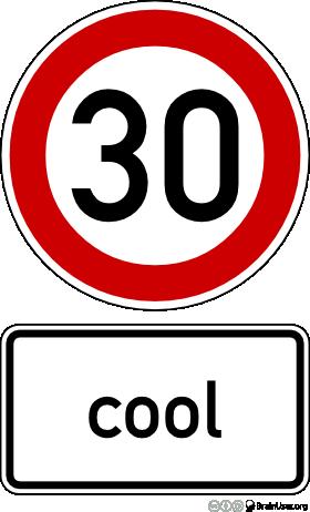 Mit Tempo 30 fließt der Verkehr entspannt und weitestgehend unfallfrei