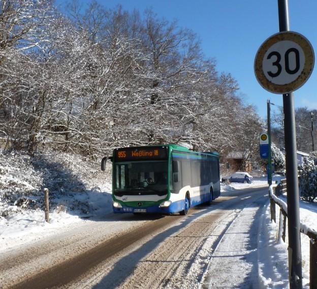 955er Bus in Hochstadt